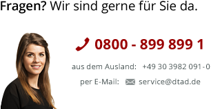 DTAD AG - Kontakt